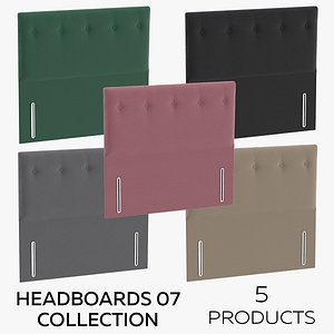 3D model Headboards 07 Collection