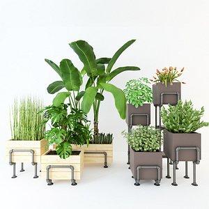 Planter Box PB1 3D model