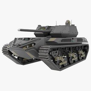 3D Ripsaw M5 Electric Tank