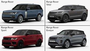 Range Rover Collection Vol 1 3D model