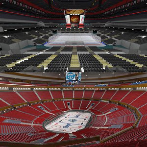 Ice Hockey Stadium Collection 3D model