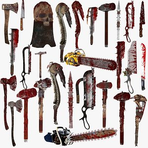 3D Weapons Collection