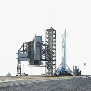 Kennedy Space Center Launch Complex model