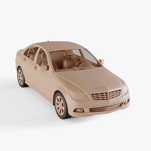 2010 Mercedes-Benz C-Class 3D model