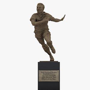3D ASB Rugby Awards Football Union Air New Zealand NPC Trophy L1347