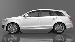 2009 Audi Q7 TDI 3D model