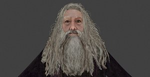 aberforth dumbledore hp - 3D model