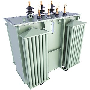 transformer electric industry 3D