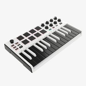 3D keyboard controller 25