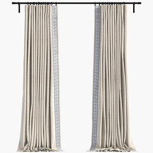 Curtain model