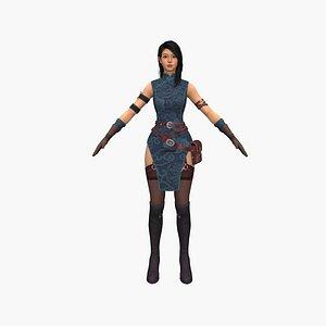 Gianna 3D model