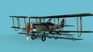 3D Airco DH-4 V01 Bomber model