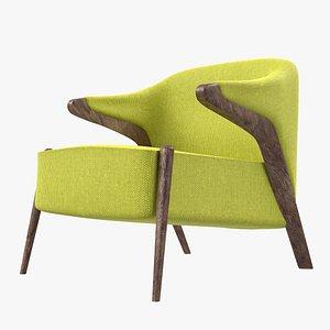 chair armchair classic 3D