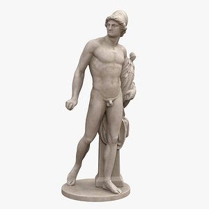 diomedes statue 3D
