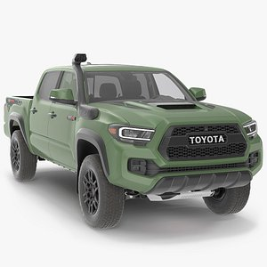 Toyota Tacoma TRD Pro Army Green 2021 3D model