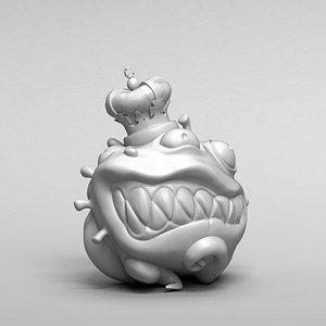 covid monster model
