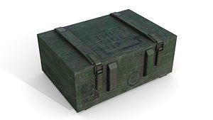 3D model Military Case 2