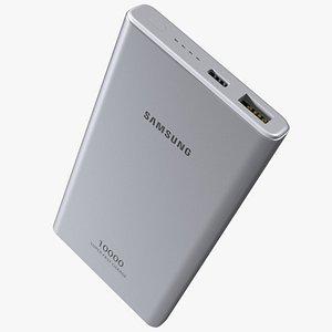 3D Samsung 25W Battery Pack 10000mAh