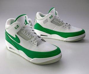Nike Air Jordan 3 Sneaker 3D model