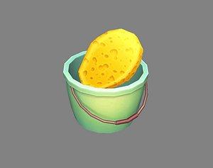 bucket sponge model