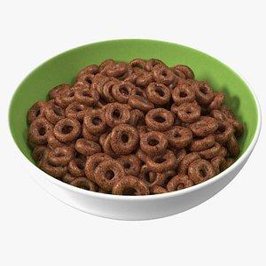 3D Chocolate Rings Breakfast