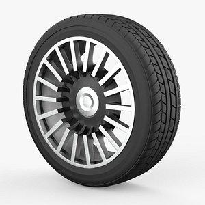 Wheel Classic Concept Design 3D