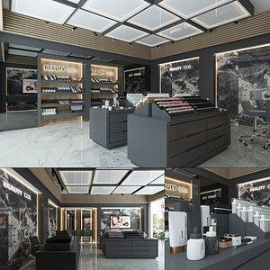Cosmetics Store Interior 3D model