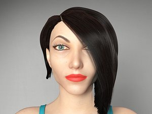 3D female character version