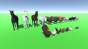 3D animal farm