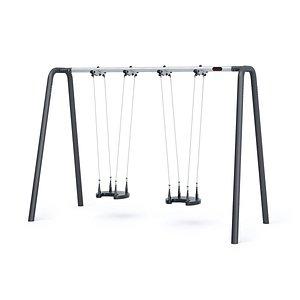 3D swing baby seat frame