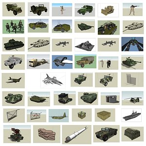 3D 62 army model