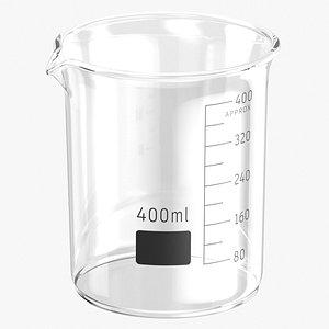 3D beaker
