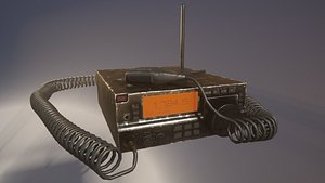 3D model Amateur Radio - 4k