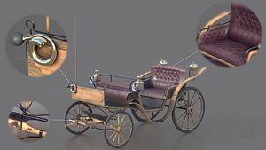 3D carriage car