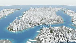 Manhattan NYC 3D