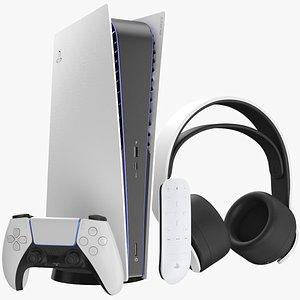 3D Full PlayStation 5 Console Collection