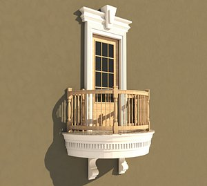 Balcony Windows 4 model