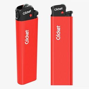 Cricket flint pocket lighter 03 model