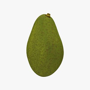 Avocado - Extreme Definition 3D Scanned Model 3D