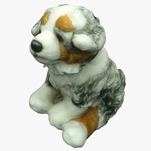 Plush Animal 24 Dog 3D model