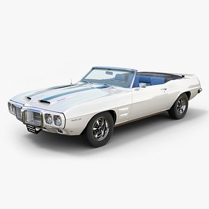 3D 1969 pontiac firebird trans model