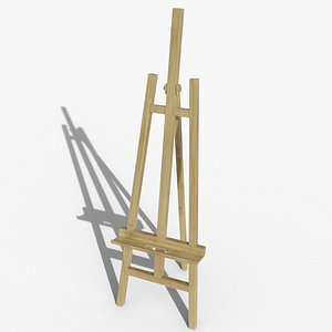 3D easel stand