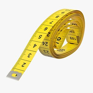measuring tape 3D