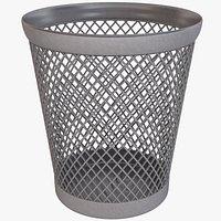 Waste Paper Basket 1 Empty