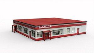 Supermarket 3D model