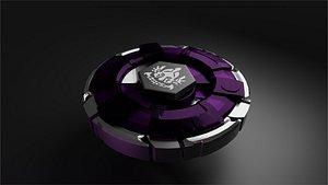 BEYBLADE Faris dalam 3D model