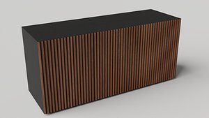 3D Leon Wooden Sideboard by Casamania  Horm