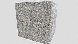 pbr old concrete 3D