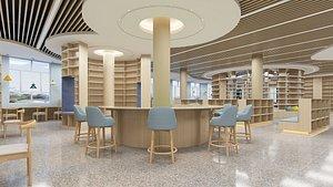 Book Shop 3D model