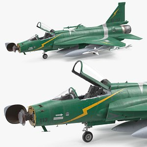 3D PAC JF-17 Thunder Green Livery with Armament